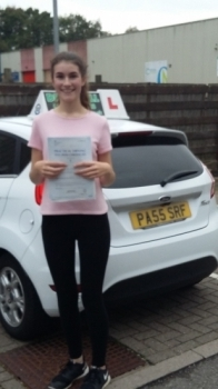 Anna Dee absolutely thrilled to be holding her Pass Certificate after passing her test first time today. She overcame any superstitions  passing her Driving Test today - yes on Friday 13th!  Anna had an outstanding almost perfect drive with only 1 driver fault. A joy to teach, extremely diligent with a tremendous attitude to listening to advice on ...