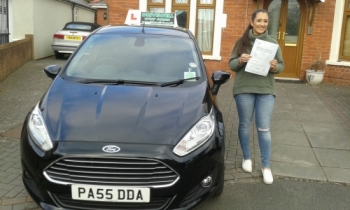 Grace Palladino really thrilled to be holding her Pass Certificate after passing her Driving Test today with only 2 driver faults. Grace was a good listener worked extremely hard and despite not feeling well she was determined to do well and produced an exceptional smooth and confident drive.  Congratulations and well done again. Enjoy your Pass Pl...