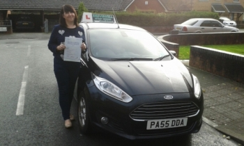 Elizabeth Thompson clearly delighted to be holding her Pass Certificate after passing her test today.  A great drive both smooth & safe drive with only 3 driver faults.  This was a fantastic achievement  following sheer determination and hard work. Salvina is looking forward to seeing you for Pass Plus.  Congratulations & well done again.  ...